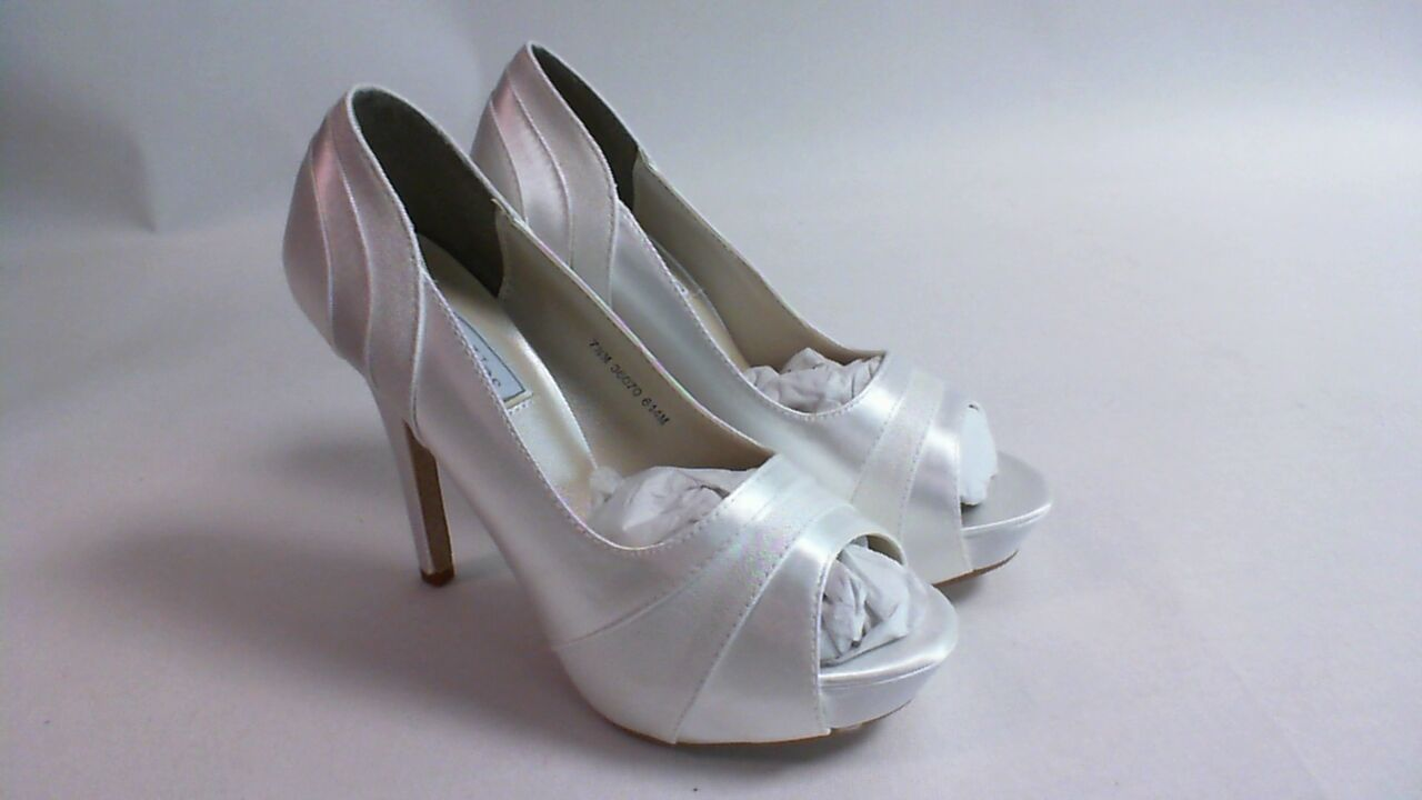 Touch Ups Wedding Shoes - White - Emmy - US 7 M UK 5 #12R551