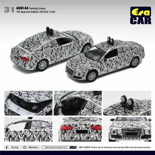 ERA CAR # 31 1//64 AUDI A6 Testlackierung 1. Sonderausgabe Diecast Toy Car