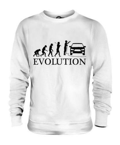 Coche Valeter Evolution Of Man Unisex Suéter Regalo Hombre Mujer Limpieza