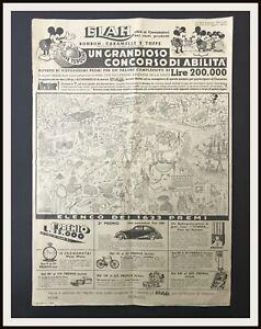 GRANDIOSO-CONCORSO-ABILITA-Figurine-Elah-Topolino-1936-DISNEYANA-IT