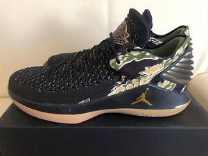 aae13d4cb6a132 Air Jordan XXXII low Camo AA1256-021 Black Metallic Mens Basketball ...