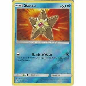 Staryu-28-181-Common-Reverse-Holo-Card-Pokemon-Sun-amp-Moon-Team-Up-SM-9-TCG
