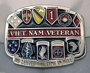 US-Army-Vietnam-Veteran-Hand-Custom-Belt-Buckle