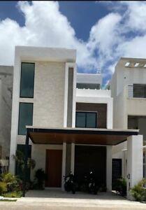 Casa en renta en Residencial Aqua en Cancun Q Roo