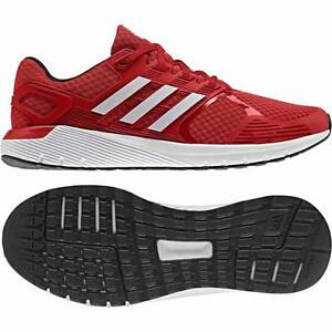 red adidas shoes cloudfoam