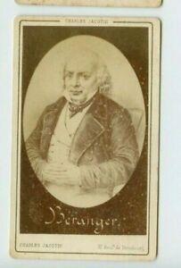 Vintage-CDV-Pierre-Jean-de-Beranger-French-Poet-by-Charles-Jacotin