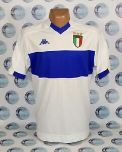 save off 22120 83c7a ITALY NATIONAL TEAM 1998 2000 AWAY FOOTBALL SOCCER SHIRT ...