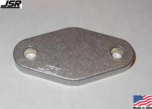 99-04 Mustang V6 3.8 EGR Adapter Mount Delete Plate Kit 1//4 Inch Aluminum