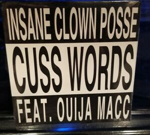Insane-Clown-Posse-Cuss-Words-CD-SEALED-oujia-mac-mike-e-clark-rare-single-icp