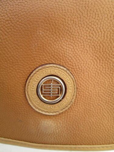 Bag Beg Authentique Pucci À Sac Vintage Cuir Emilio En Main 70's fSzxf