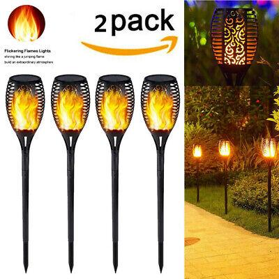 #33-0002-Solar Torch Lights Waterproof Flickering Flame