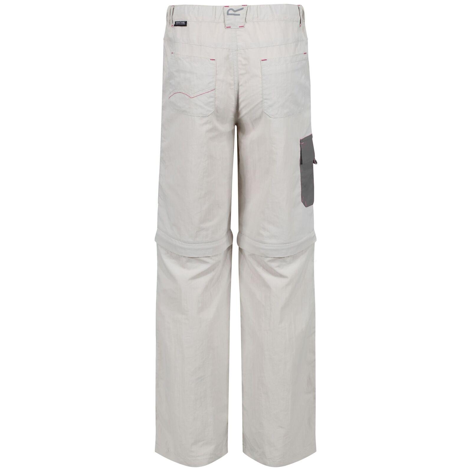 Regatta Great Outdoors Childrens//Boys Sorcer Zip-Off Pants RG2101