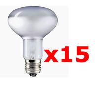 15 x Set Reflektorlampen 40W 60W Glühbirnen Sockel E27 Lampe Leuchte Glühbirne