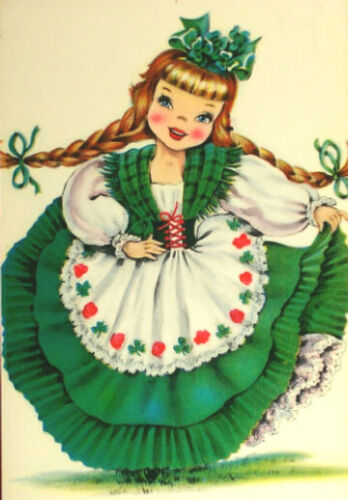 International Doll Ireland Irish Counted Cross Stitch Pattern Chart Graph