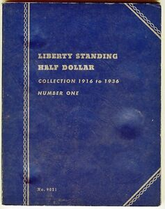 Whitman-Liberty-Standing-Half-Dollar-Collection-1916-to-1936-No-1-9021