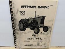 Minneapolis Moline M5 Tractor Overhaul Manual