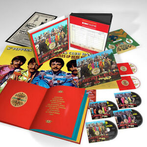 The-Beatles-Sgt-Pepper-039-s-Lonely-Hearts-Club-Band-New-CD-Oversize-Item-Spilt