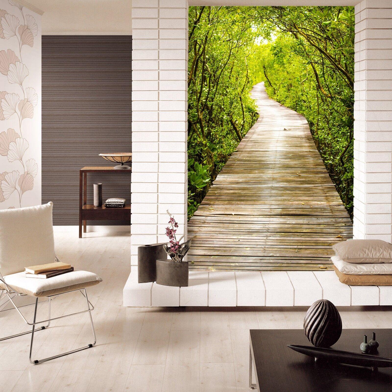 3D Wälder Promenade 788 Tapete Wandgemälde Tapete Tapeten Bild Familie DE Lemon