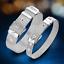 Fashion-925-Silver-Plated-Charm-Bangle-Cuff-Bracelet-Men-Women-Jewelry-Wristband thumbnail 1