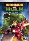 Iron Man and Hulk Heroes United 0786936838664 With Adrian Pasdar DVD Region 1