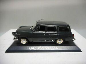 GAZ M-21 VOLGA MKII//MKIII M-22 STATION WAGON//ESTATE 1959-70 DeAgostini IXO 1:43