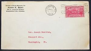 Saratoga-Scott-644-2c-on-US-Postal-History-Envelope-Washington-USA-Brief-Y-355
