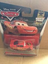 """DISNEY CARS DIECAST - """"Road Repair Lightning McQueen"""" - 2015 Card - VHTF"""