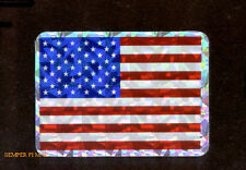 35 HELMET STICKER DECAL MINI USA FLAG MADE IN US MARINES USS NAVY AIR FORCE USCG