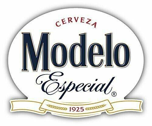 """Modelo Cerveza Especial Mexican Beer Special Bottled Drink Bottled 4 Pack 5/""""x 4/"""""""