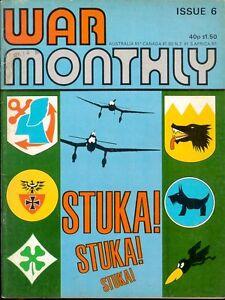 WAR-MONTHLY-6-WW1-WW2-GERMAN-RAILWAY-GUNS-KRUPPS-BRUNO-DORA-CAVALRY-ANZIO