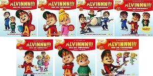 7-CDs-ALVIN-UND-DIE-CHIPMUNKS-HORSPIEL-ZUR-TV-SERIE-1-7-IM-SET-NEU-OVP-amp