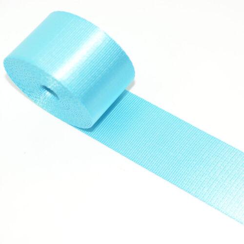 Universal Racing Front 3 Point Safety Retractable Van Car Seat Lap Belt Blue L