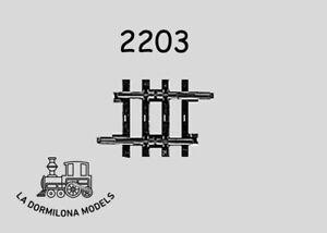 MARKLIN-2203-K-Gleis-Gerades-Gleis-Straight-Track-Length-1-6-30-mm-c69