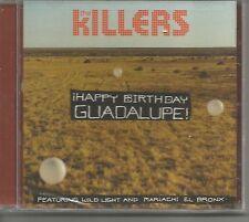 THE KILLERS w/ MARIACHI EL BRONX Happy Birthday Guadalupe CHRISTMAS CD Single 09