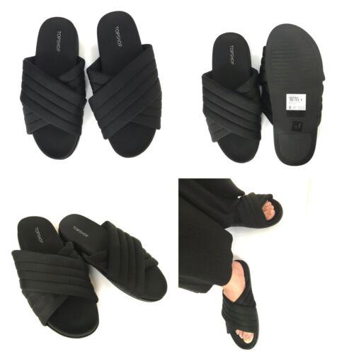 Ladies ORTHOPEDIC Diabetic Mem-Foam TOPSHOP Mule Sandal Slipper Beach Shoe Size