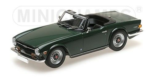Minichamps Triumph Tr6 British Racing Green Dark Green 1 18