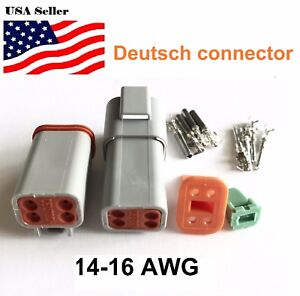 4-Pin-Deutsch-DT04-Engine-Gearbox-waterproof-electrical-connector