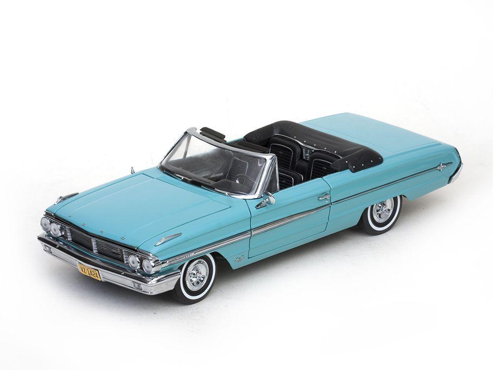 1964 Ford Galaxie 500 vert cabriolet 1 18 Sunstar 1424