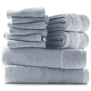 Conjunto-de-toallas-de-10-piezas-Ultra-Suave-100-algodon-toallas-bano-mano-amp-panos-Set