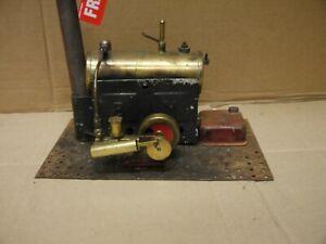 vintage large Bowman live steam stationary engine c1900's for restoration