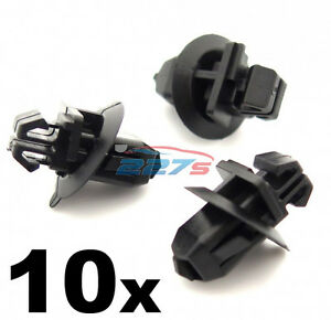 10x-Lower-Side-Moulding-Clips-amp-Wheel-Arch-Trim-Clips-Toyota-Land-Cruiser-Prado