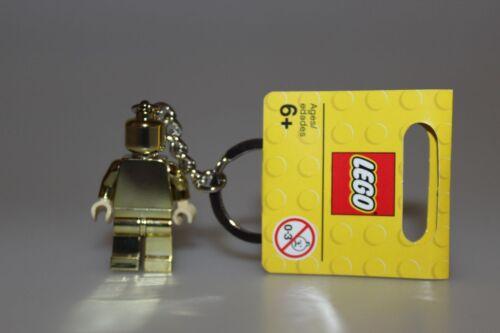 Lego 850807 Neu ! Lego Schlüsselanhänger goldene Minifigur