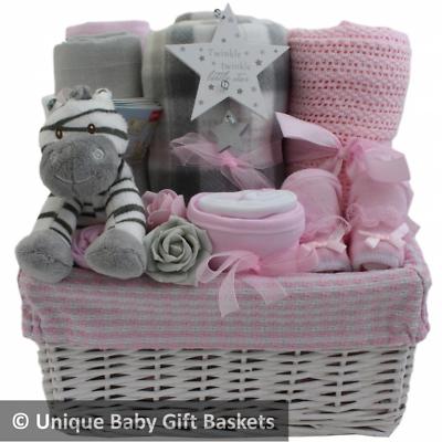 gift basket/hamper girl baby shower