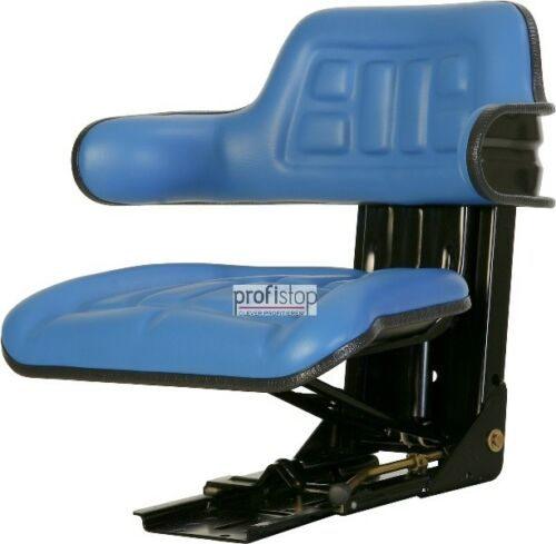 Ford 2000 2600 2610 3000 3600 3910 Schleppersitz Traktor Sitz blau