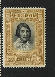 Portugal-SC-436-Mint-Hinged-Hinge-Remnant-see-notes-S6210