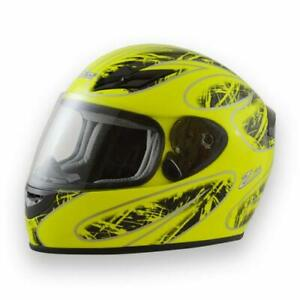 Zamp FS-8 Snell M2015 DOT Helmet Graphic Blue//Silver Large