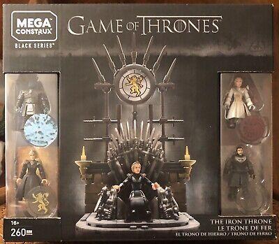Mega Construx Game of Thrones The Iron Throne 260 Piece Building Set