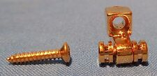 1 NEW GOLD ROLLER STRING RETAINER FOR ACOUSTIC OR ELECTRIC GUITAR