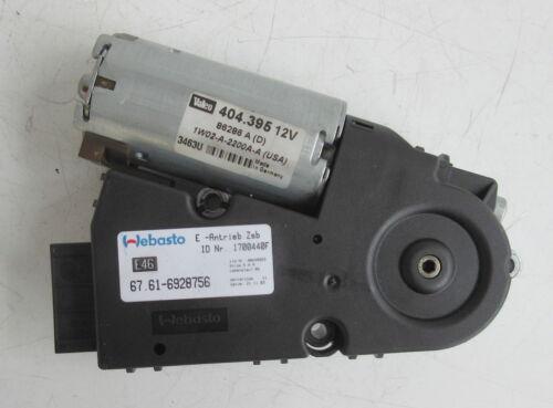 Genuine Used MINI /& BMW Drive Unit for Sunroof R50 R53 E46 E38-6928756