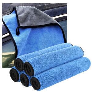 Super-absorbant-lave-auto-voiture-microfibre-Serviettes-nettoyage-seche-linge-G